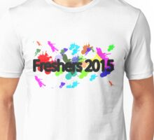 Freshers 2015 university design, OFFICIAL EXCLUSIVE Paint splatter Unisex T-Shirt