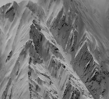 Mountain Range NZ by Nigel Fox