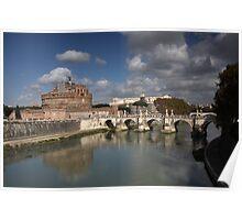 Sant'Angelo Castle and Bridge Poster