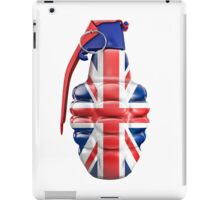 British grenade iPad Case/Skin