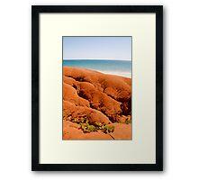 Red Dirt Framed Print