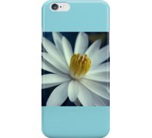 Luminous White Night Bloomer iPhone Case/Skin