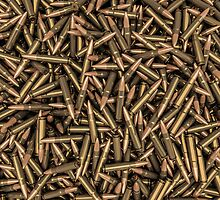 Rifle bullets by GrandeDuc