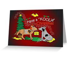 Have a Koolie Christmas Greeting Card