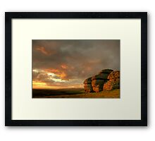 Blazing Saddle's Framed Print