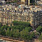 PORTION DE PARIS  by MIGHTY TEMPLE IMAGES
