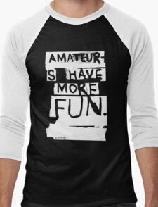 AMATEURS Men's Baseball ¾ T-Shirt