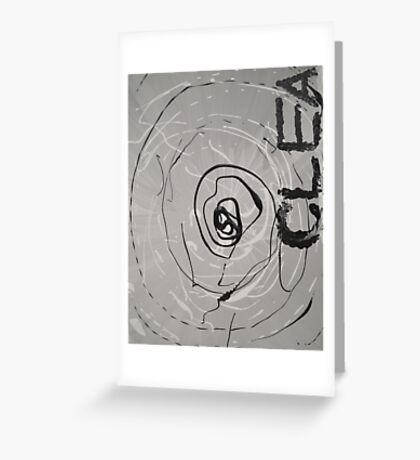 Clea - Guess The Hand Greeting Card