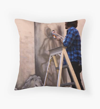 A plan Throw Pillow