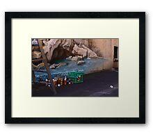 Escapee cap Framed Print