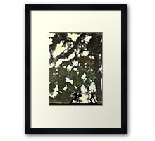 Windowsill War Framed Print