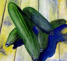 As cool as a cucumber by Elizabeth Kendall