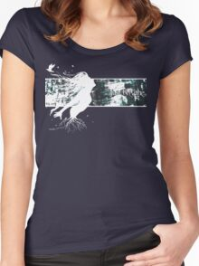 Take a deep breath Women's Fitted Scoop T-Shirt