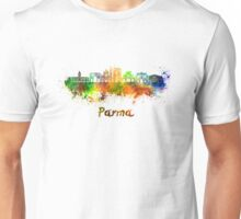 Parma skyline in watercolor Unisex T-Shirt