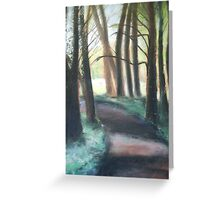 pathway Greeting Card