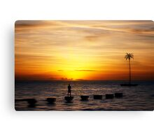 empty with you  Canvas Print