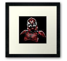 Star Wars - Stormtrooper - Carnage - Spiderman Framed Print