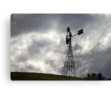 Lonely Windmill Canvas Print