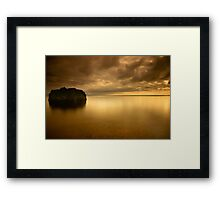 The Rock Framed Print