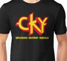 Infiltrate Destroy Rebuild Unisex T-Shirt