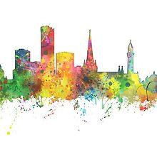 Birmingham, England Skyline by Marlene Watson