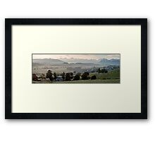 Frosty Morning in the Bernese Oberland Framed Print