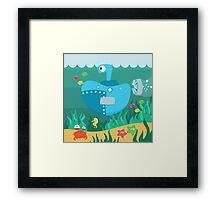 SUBMARINE (AQUATIC VEHICLE) Framed Print