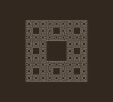 Sierpinski carpet Unisex T-Shirt