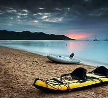 Boaties paradise 2  by Michael Howard
