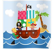 PIRATE SHIP (AQUATIC VEHICLE) Poster