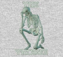 The Thinker .. tee shirt One Piece - Long Sleeve