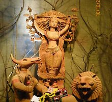 Durga Puja, 2010, Lake Gardens, Kolkata, India by mahe316