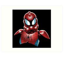 Star Wars - Stormtrooper - Spiderman Art Print