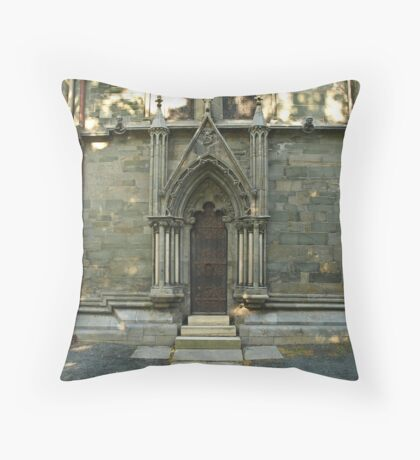 A door - Nidaros Cathadral Throw Pillow