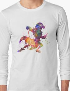 Captain Hook in watercolor Long Sleeve T-Shirt