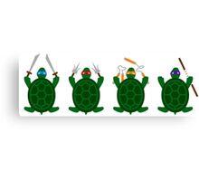 Mini Turtels Canvas Print