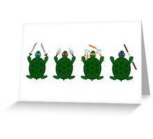 Mini Turtels Greeting Card