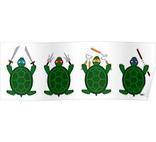 Mini Turtels Poster