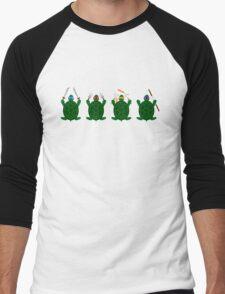 Mini Turtels Men's Baseball ¾ T-Shirt