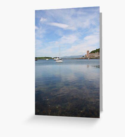 Sea View at Oban Greeting Card