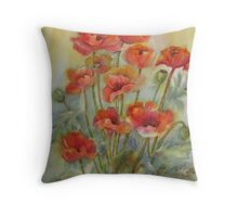 Greet the Day with Gladness Throw Pillow