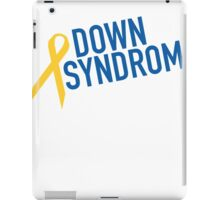 FOR MY HERO DOWN SYNDROME AWARENESS iPad Case/Skin