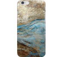 """Large Wall Art , Abstract art, Contemporary art, Original textured painting, Nature Wall Art """"ELEVATIONS"""" iPhone Case/Skin"""