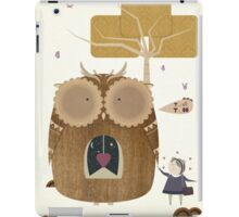 My Owl and Me iPad Case/Skin