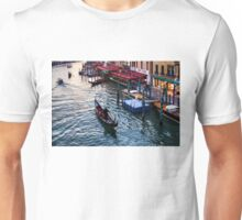 Impressions Of Venice - a Classic Grand Canal Evening Unisex T-Shirt