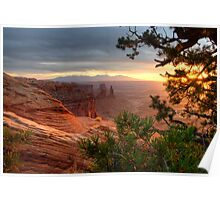 Daybreak Washer Woman Arch Poster