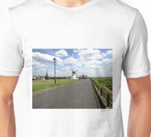 WINDMILL ON THE COAST Unisex T-Shirt