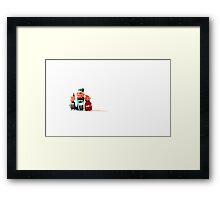 Merry Elf-Mas Framed Print