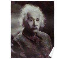 Einstein by John Springfield Poster