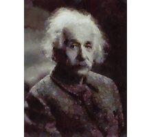 Einstein by John Springfield Photographic Print